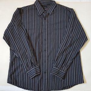 J. Ferrar XL Men's Long Sleeve Button Up Shirt
